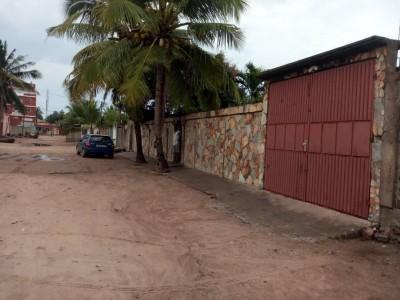 villa 5 chambres inachévée sur 1 lot