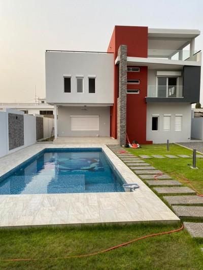 Superbe villa moderne 6 chambres ..2 salons + piscine