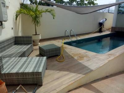 Belle villa 4 chambres ..piscine avec titre foncier